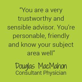Douglas MacMahon Testimonial