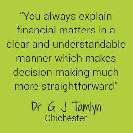 Dr Tamlyn Testimonial