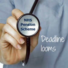 NHS Pensions' Scheme Pays election deadline is the 31st July each year