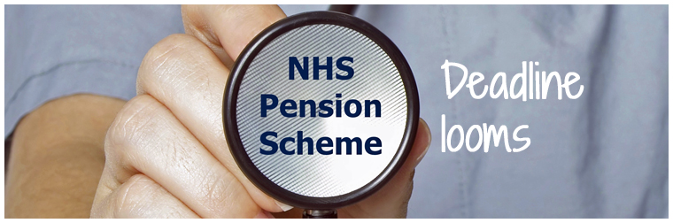Don't miss the looming NHS Pensions Scheme Pays deadline