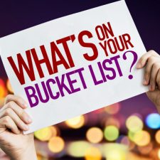 Live your bucket list now, not just in retirement!