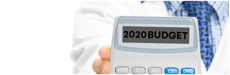 2020 budget update and how it will affect medics